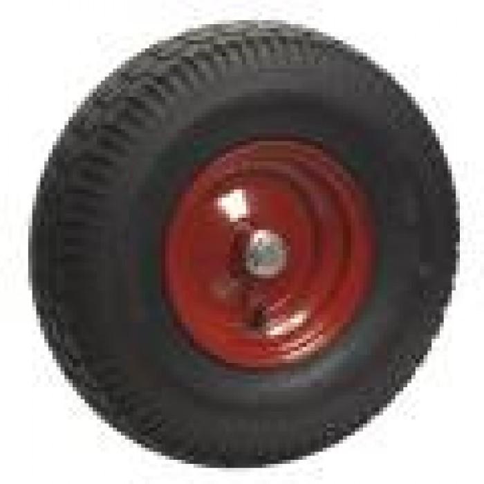 Luftgummihjul med kuglelejer